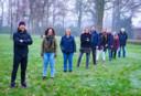 Het team achter het Heerdelijk festival Heerde, met vlnr Jurrian Bijsterbos, Lisette Holtdijk, Jolanda Disselhorst, Lucienne Draaier, Erwin Rozendal, Rinette van der Vliet, Jan Bertil Pool, Erica Hottinga en Ruud van den Broek.