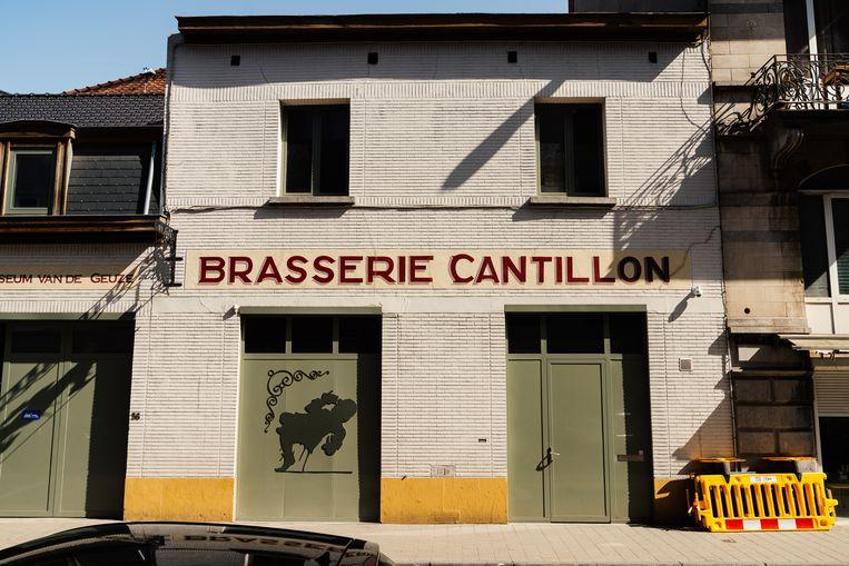 De enige lambiekbrouwerij in Brussel. Beeld Illias Teirlinck