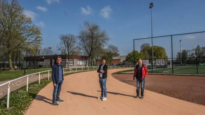 """Sportcentrum Olympiadeplein heeft nieuwe looppiste: """"Wacht om ze te betreden tot toplaag uitgedroogd is"""""""