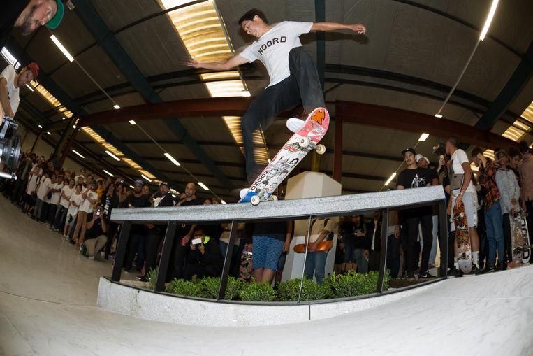 Een eerdere demo in Skatepark Noord. Beeld Marcel Veldman