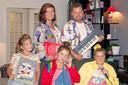 Frans Duijts en zijn gezin.