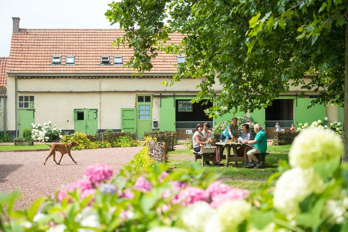 De voormalige landlopersboerderij in Wortel-Kolonie.