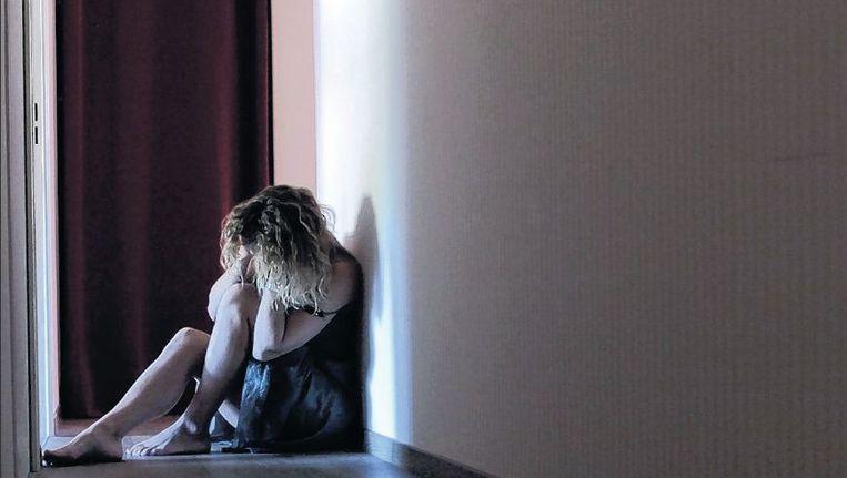 Euthanasie in combinatie met psychiatrische problematiek komt zelden voor. De vrouw op de foto is niet Dianne. Beeld PHOTOPQR/LE BIEN PUBLIC