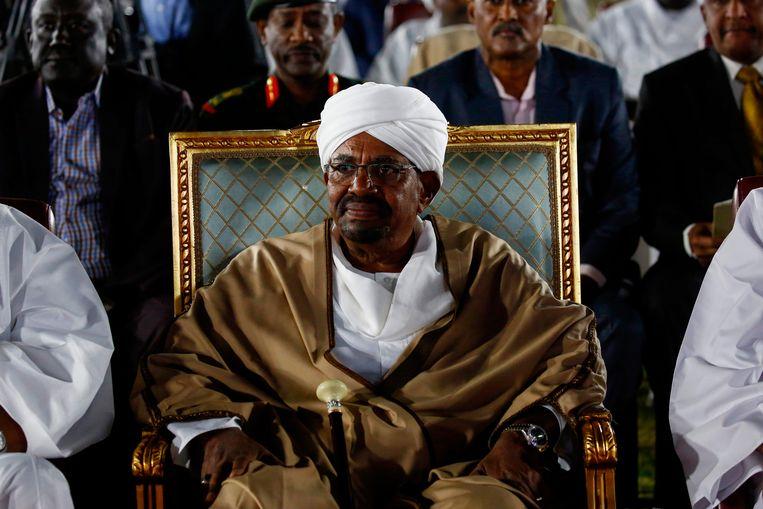 Omar al-Bashir Beeld AFP