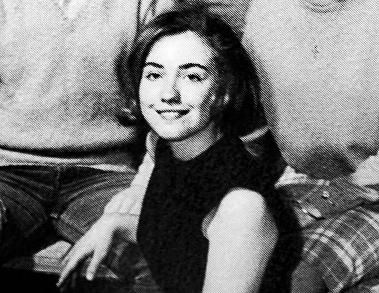 Hillary Rodham in de jaren zestig.  Beeld Hollandse Hoogte/AFP