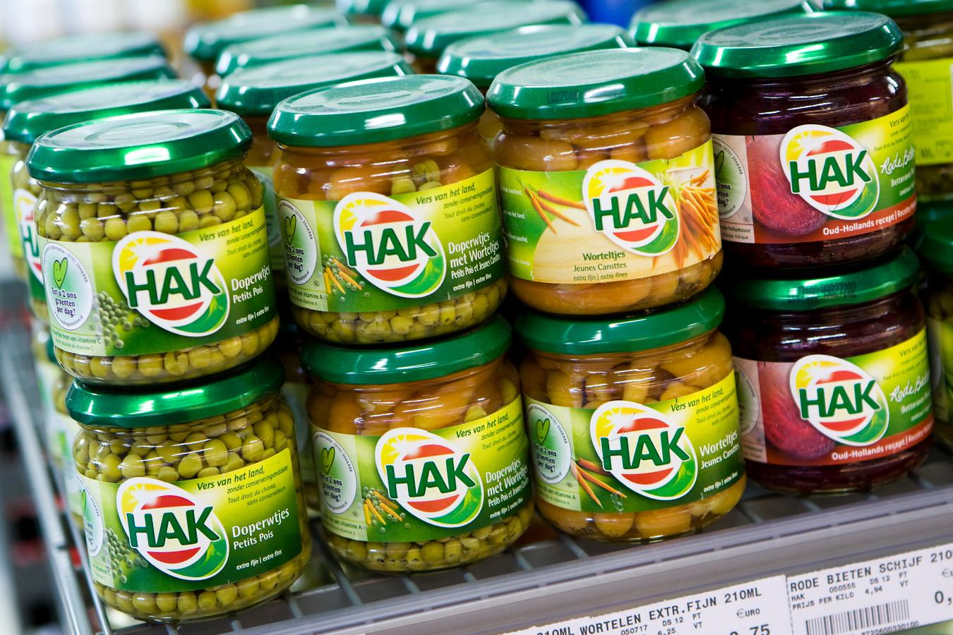 Alle merken voegen suiker toe aan hun potten en blikken groente: van HAK en Bonduelle tot de huismerken van de grote supermarkten