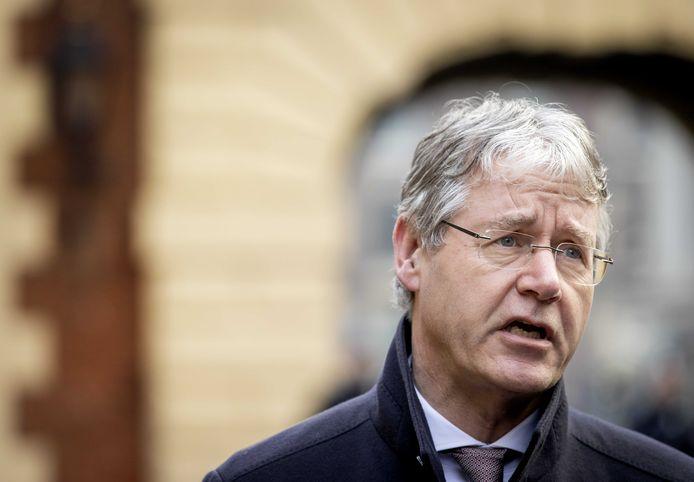 Arie Slob, demissionair minister voor Basis- en Voortgezet Onderwijs.