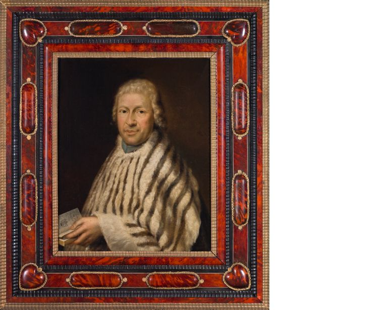 Portret van kanunnik Ludovicus Papeleu, uit de verzameling van de zusters Maricolen Deinze.