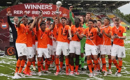 Oranje onder 17 werd in mei Europees kampioen.
