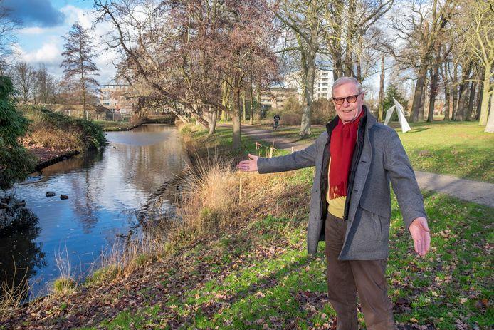 Henk de Best uit Boxmeer vreest voor aantasting van het Weijerpark.