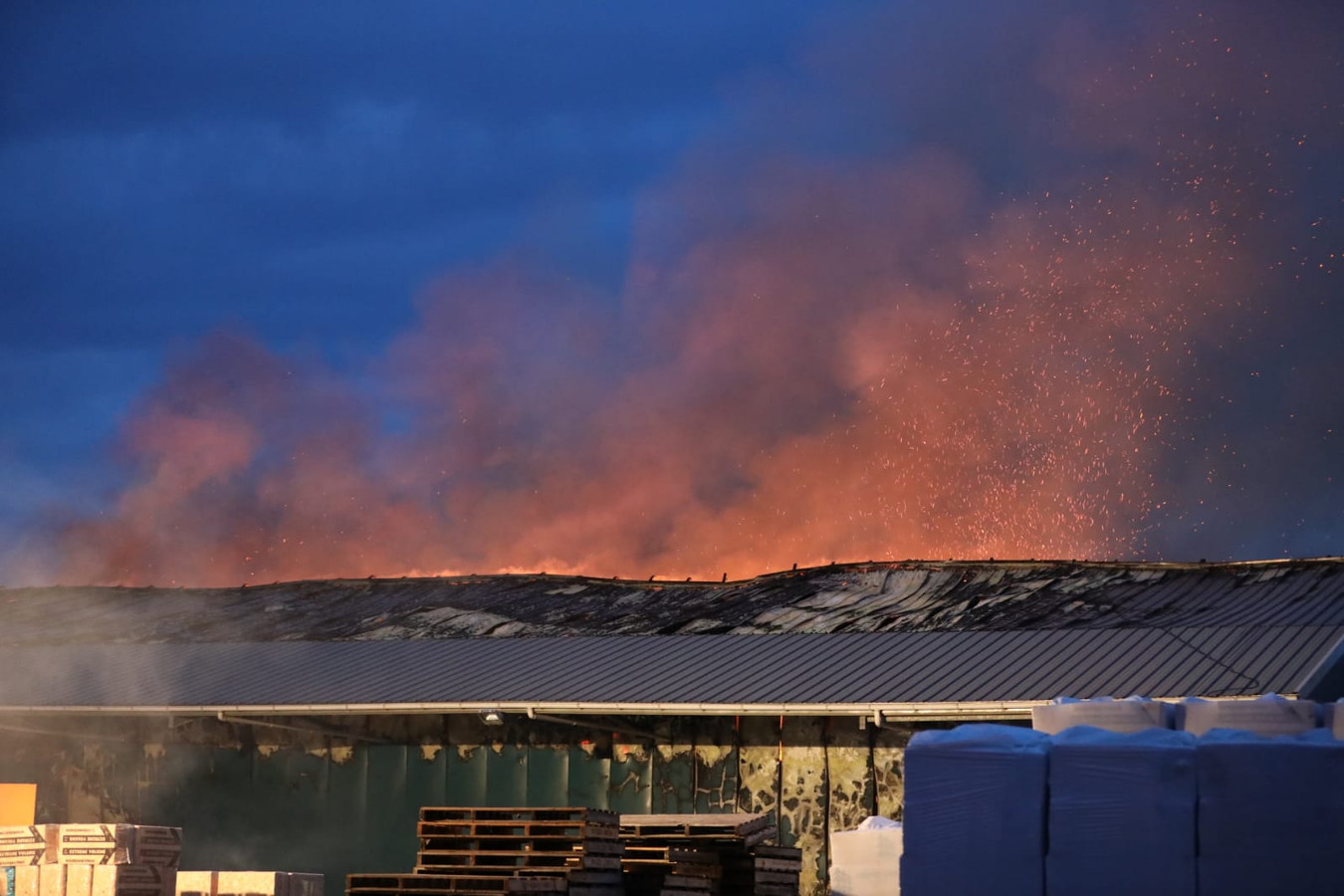 Grote brand in Daarlerveen