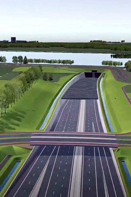 Weg vrij voor gloednieuwe A24; meningen verdeeld over komst Blankenburgtunnel