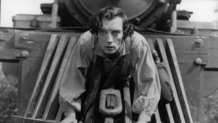 Buster Keaton in The General (1927) Beeld Hollandse Hoogte