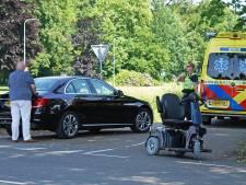 Man in scootmobiel gewond na aanrijding in Dedemsvaart