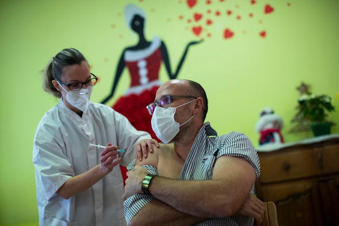 Benjamin Torrekens, le directeur de la maison de repos, s'est lui aussi fait vacciner.
