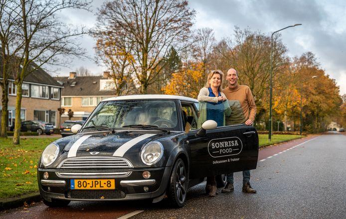 Richard en Astrid Jacobs. Hun nieuwe zaak Sonrisa gaat op 1 december open.