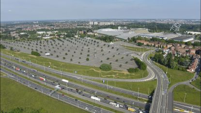 Parking C aan Heizelvlakte wordt tijdelijke Park & Ride tijdens werken aan Leopold II-tunnel
