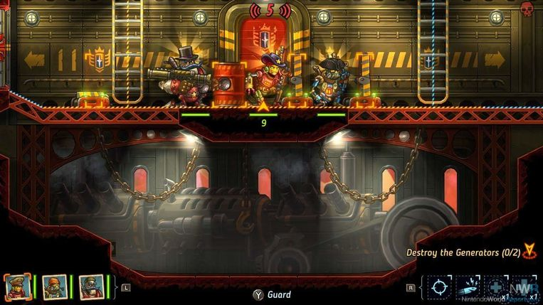 'SteamWorld: Heist' baadt in een innemend steampunk-sfeertje. Beeld Image and Form
