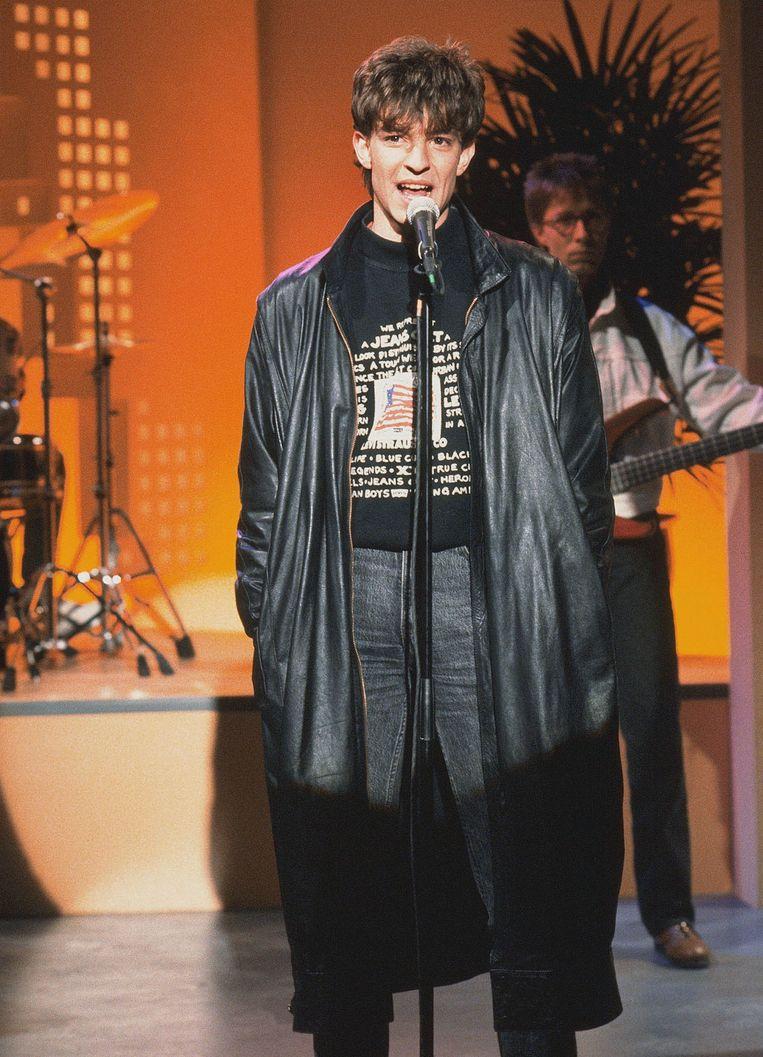 Koen Wauters brak in 1989 door als frontzanger van Clouseau, een carrière bij VTM volgde. Beeld Belgaimage