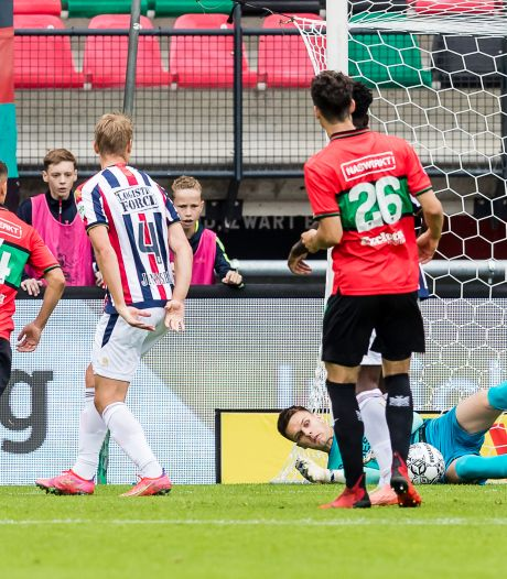 NEC kan ondanks Tilburgse keeperssoap niet scoren en ziet tien Willem II'ers punt pakken