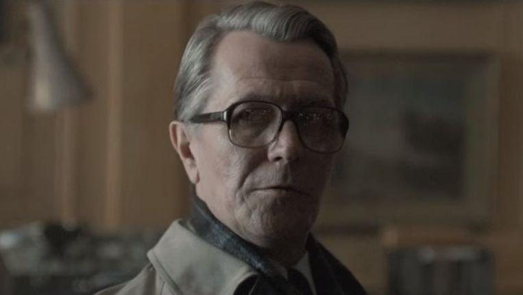 Gary Oldman als George Smiley in de film Tinker tTailor Soldier Spy, gebasseerd op het boek van Le Carré Beeld