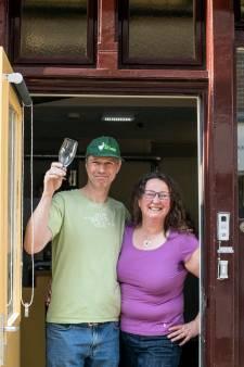 Ben en Ingrid van Dalen beginnen Brouwerij 't Gansje in Goes