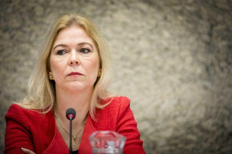 CDA-Kamerlid Madeleine van Toorenburg diende samen met Daniel Koerhuis van de VVD de initiatiefwet tegen kraken in.   Beeld ANP
