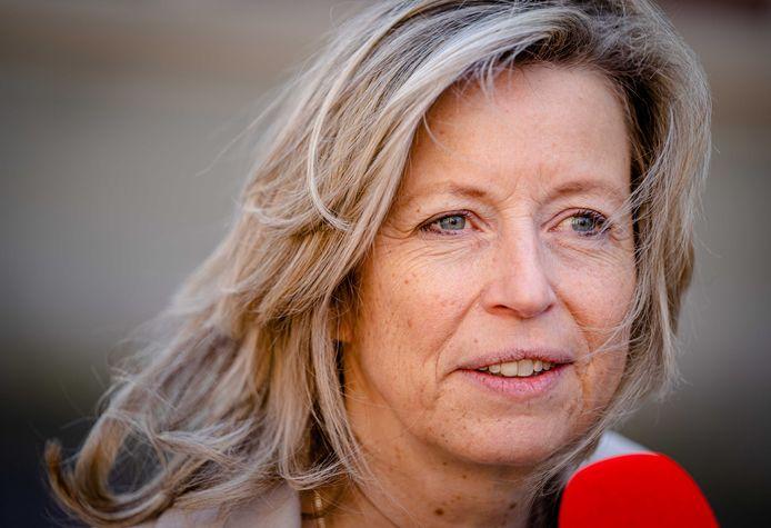 Demissionair minister Kajsa Ollongren van Binnenlandse Zaken.
