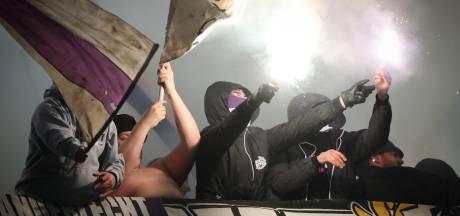 Deux supporters d'Anderlecht condamnés pour avoir tagué le stade Jan Breydel