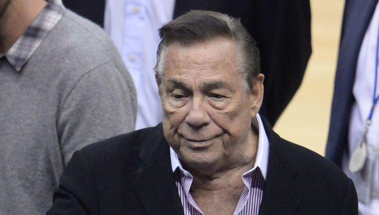 Eigenaar van de LA Clippers Donald Sterling. Beeld afp