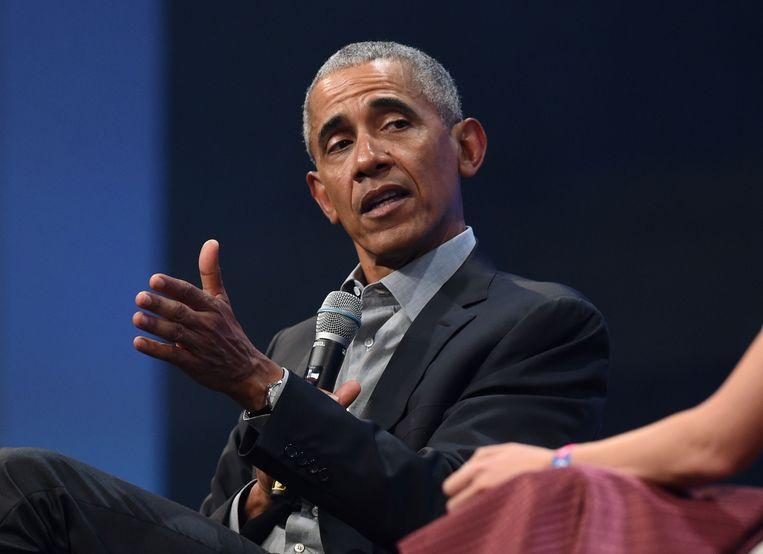 Obama heeft voorlopig ook geen interesse in de ceremonie zolang Trump in het Witte Huis zit. Beeld AFP