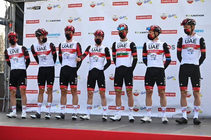 UAE Team Emirates gaf in extremis forfait voor de Waalse Pijl.