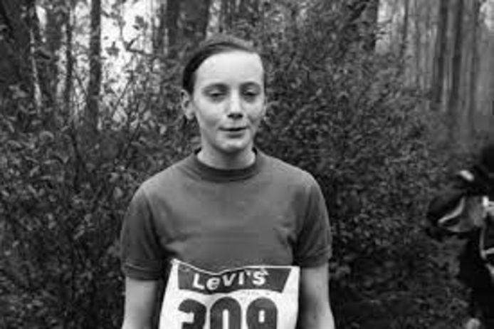 Via een scholencross maakte Régine Berg kennis met de atletiek.
