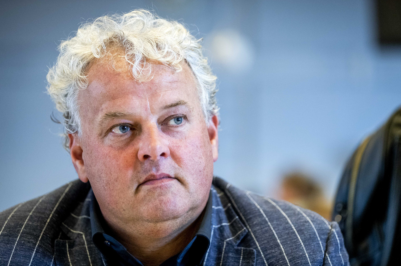 Voorzitter Robèr Willemsen van Koninklijke Horeca Nederland (KHN).