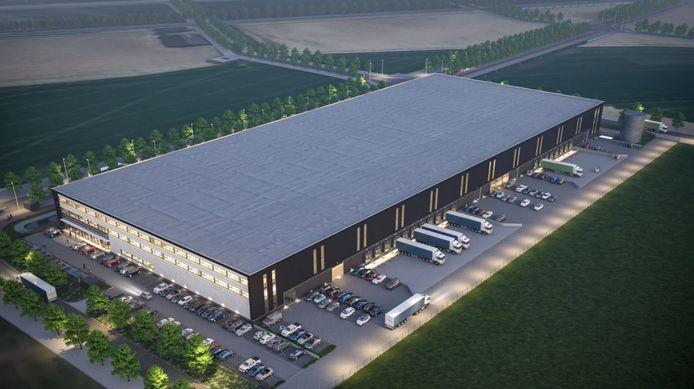Het distributiecentrum bestaat uit meer dan 22.000 vierkante meter. Momenteel is nog ongeveer een derde daarvan beschikbaar voor huurders.