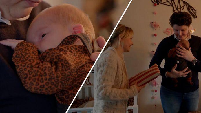 Steffi en Roel hebben een Boer zoekt Vrouw-Baby