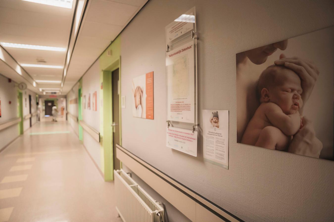 De kraamafdeling van het Hasseltse Jessa Ziekenhuis.