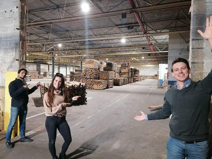 Het nieuwe magazijn zorgt nu voor dubbel zoveel opslagruimte voor Exzo.