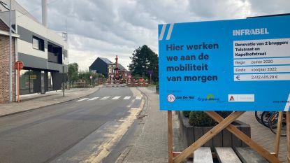 Spoorwegbrug Tolstraat Nieuwerkerken 8 maanden afgesloten en ook Blauwenbergstraat onderbroken