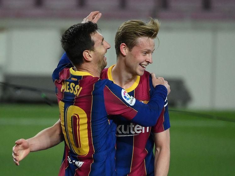 Barcelona in doelpuntrijk duel ruim langs Getafe