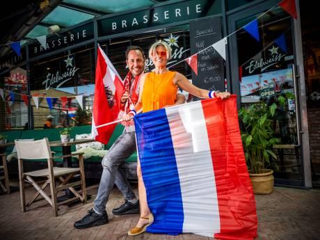 Nederlandse Brigitte (47) en Oostenrijkse Arno (47) lijnrecht tegenover elkaar: 'Jullie zijn beter in skiën'