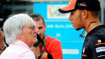 """Hamilton veroordeelt uitspraken van voormalig F1-baas Ecclestone: """"Onwetende en ongeschoolde opmerkingen"""""""