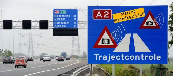 Overdag met 130 kilometer per uur van Utrecht naar Amsterdam rijden: na de zomer mag het.