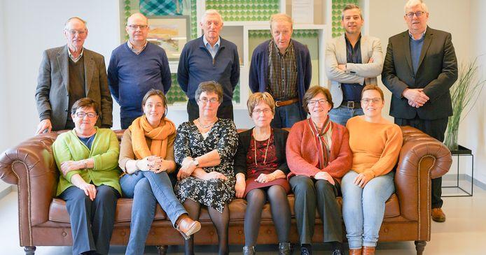 De Seniorenraad Oudenaarde (op een foto die is gemaakt vòòr de coronacrisis).