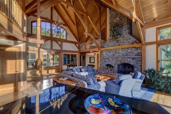 De villa van Ghislaine Maxwell in New Hampshire.