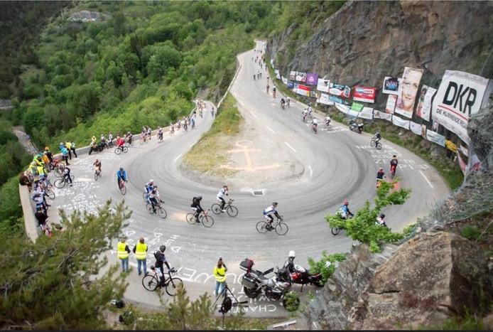 De Klimmende Règâhs bedwongen afgelopen jaar onder andere de Alpe d'Huzes