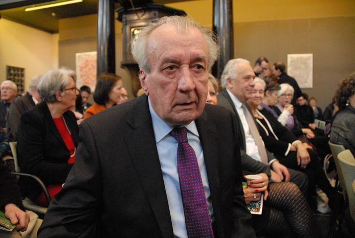 De inmiddels 82-jarige Frits Marechal, oprichter van het FOH