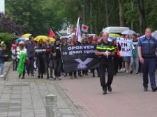 Demonstratie voor de vrijheid in Goes