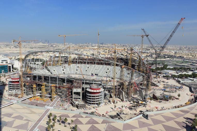 Khalifa International Stadium in Doha, Qatar.  Beeld Getty Images