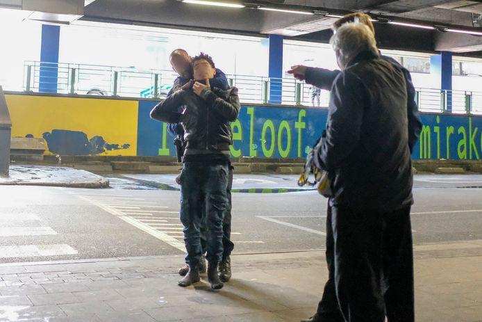 Blijvende problemen aan Brussel Noord: Arrestatie na diefstal